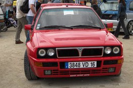 Lancia DELTA (de face)