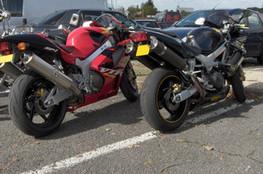 Deux VTR Honda