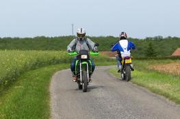 Echange de moto