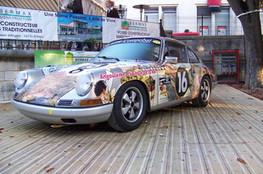 Porsche de la BD