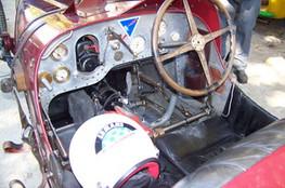 Intérieur d'une Bugatti