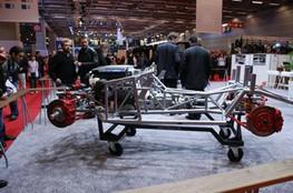 Chassis et moteur AC Cobra