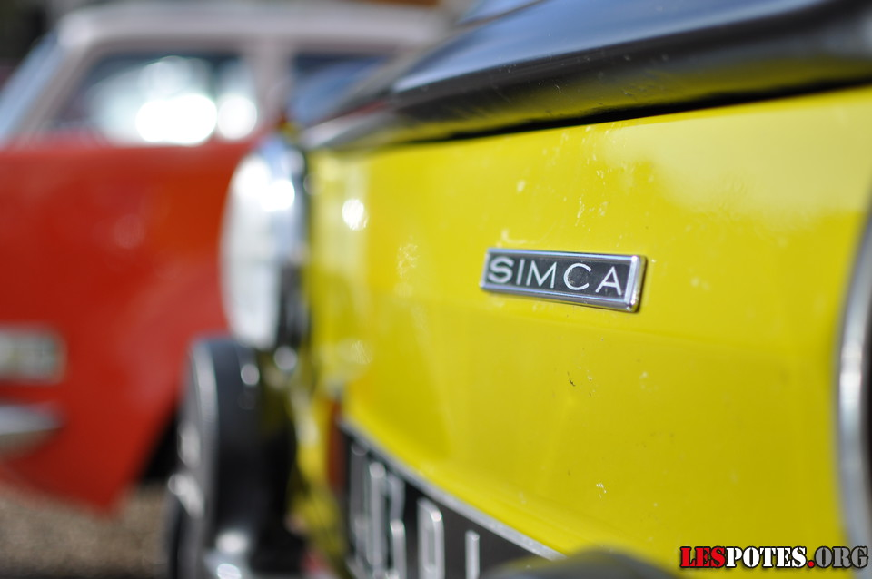 Photographie Club Simca détail