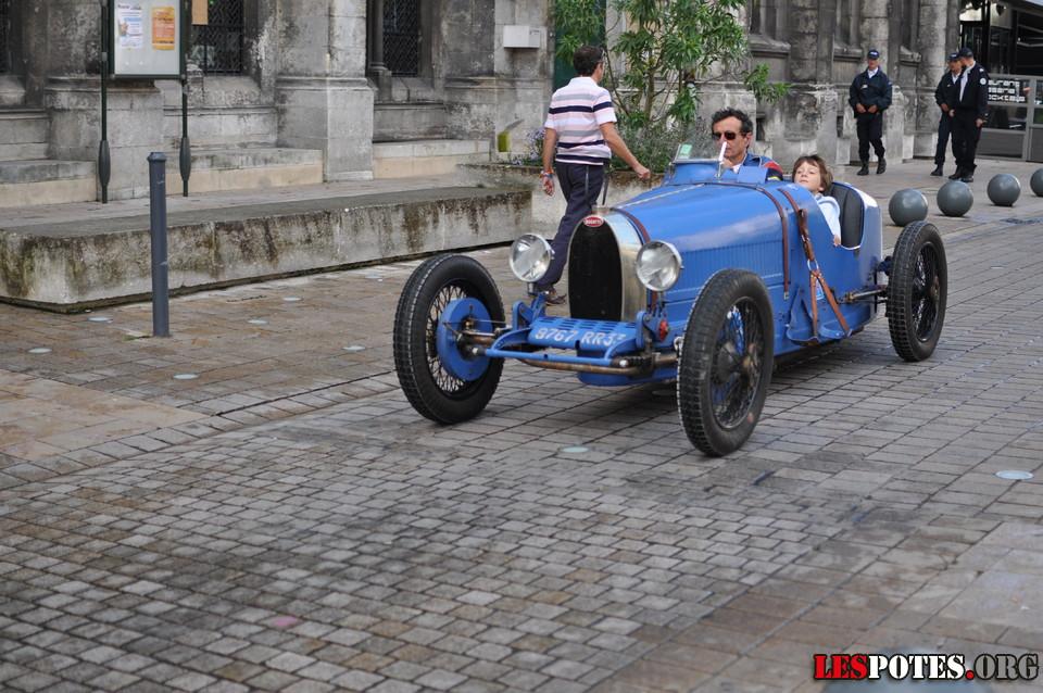 Photographie Bugatti, en famille