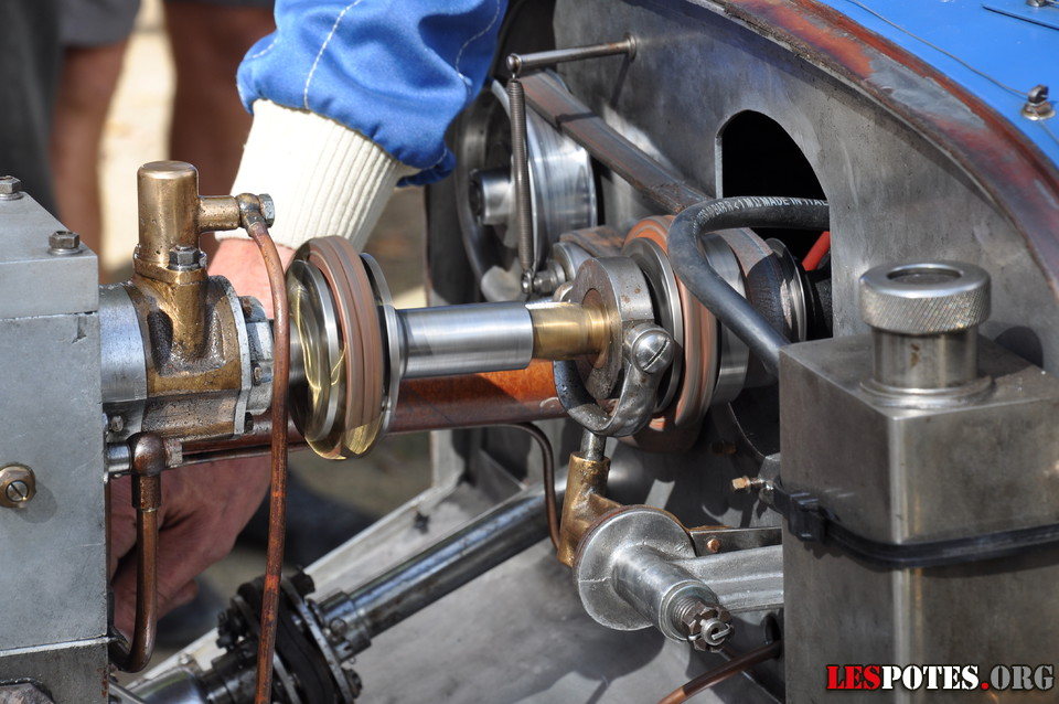 Photographie Paddocks - moteur