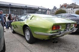 Maserati Ghibli 55, arrière