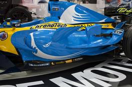 F1 Renault ailerons