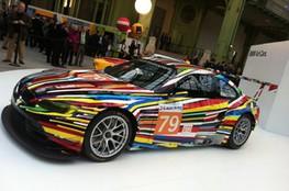 BMW art car (Jeff Koons)