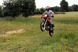 Arnaud saut 1 (250 XR)