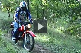 Vidéo Sortie Cross avec la 125 XLS