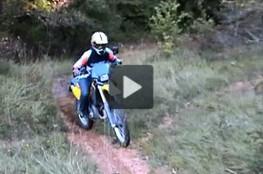 Vidéo Balade de septembre 2008 à Couziers