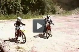 Vidéo Terrain de Cross l'été 2002