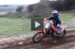 Vidéo Terrain de trial en novembre 2010