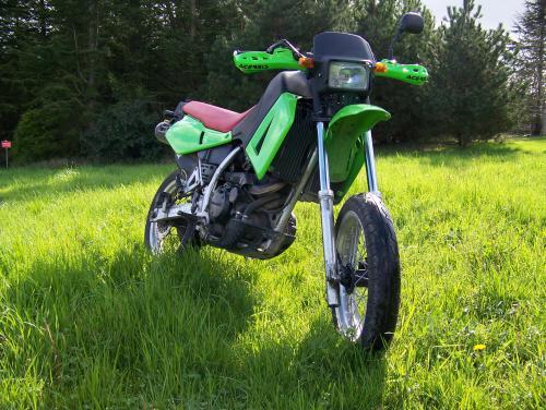 Photographie : Kawasaki 650 KLR