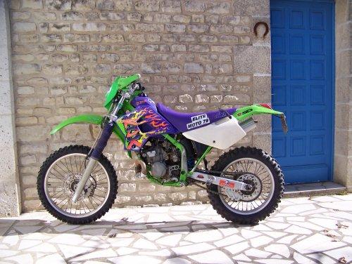 Photographie : Kawasaki 200 KDX