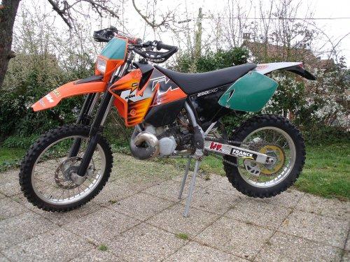 Photographie : KTM 250