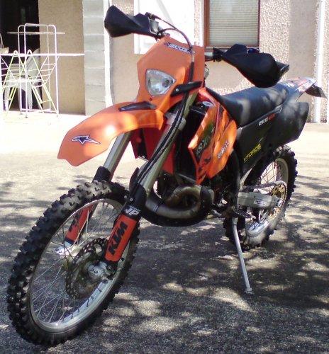 Photographie : KTM 200 EXC