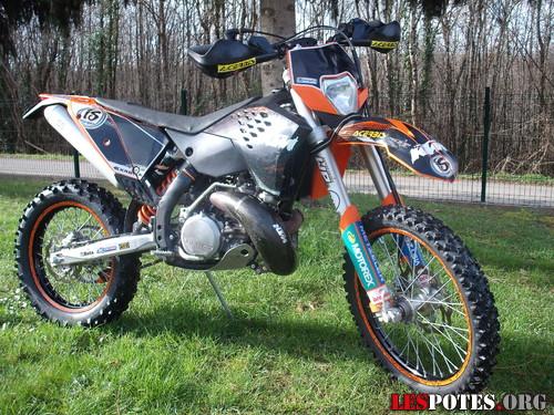 Photographie : KTM 300 exc