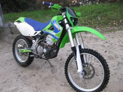 Photographie : Kawasaki 300 KLXR