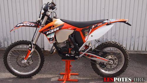 Photographie : KTM 125 EXC